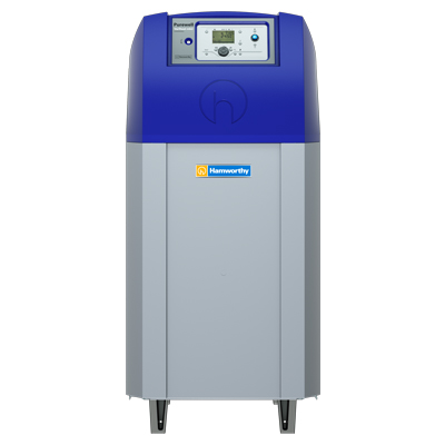 The Purewell Variheat mk2 benefits from a cast iron heat exchanger and upgraded controls.