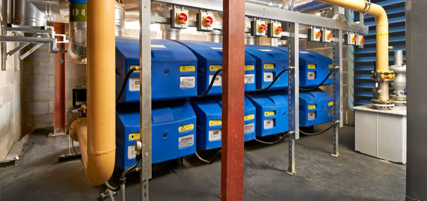 Modular boilers in district heating networks