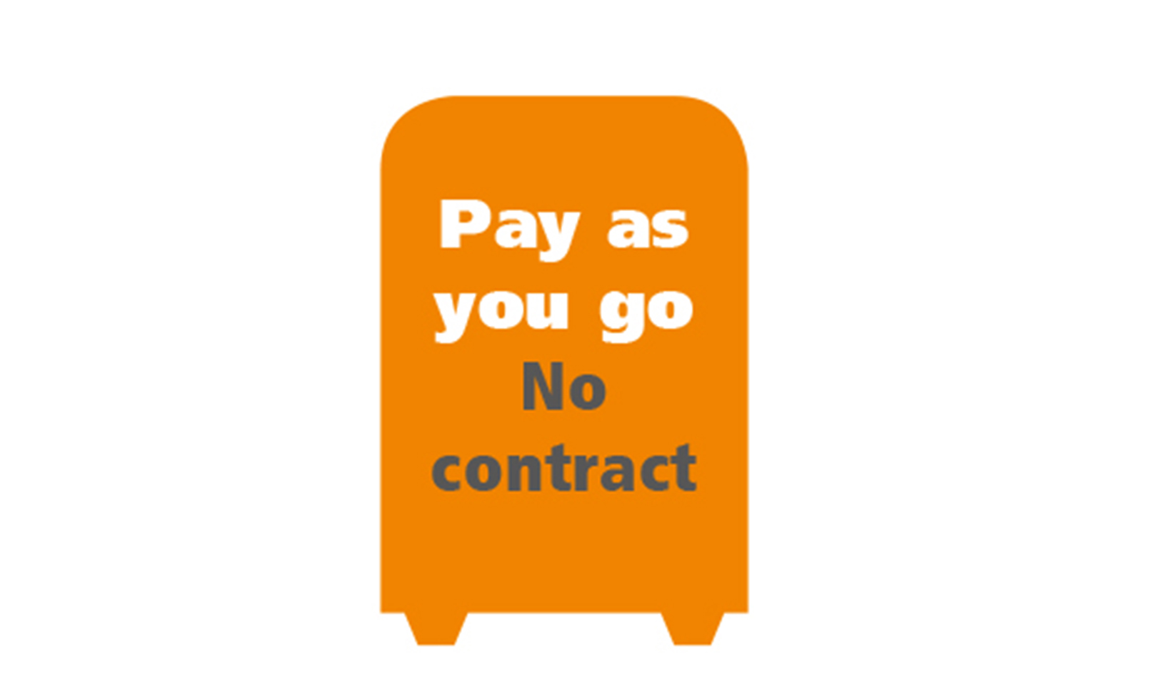 Pay as you go service contract