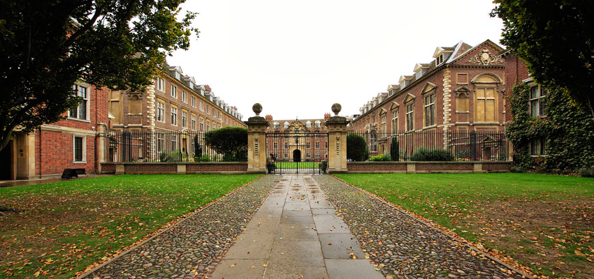 St Catharine's College in Cambridge.