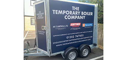 Mobile boiler plant rooms can help with refurbishment projects.