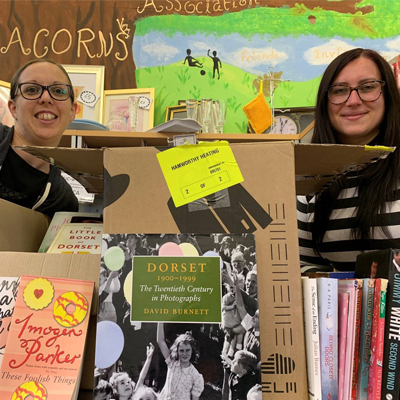 Books for sale on world book day were donated to the local Oakdale Residents Community Association.