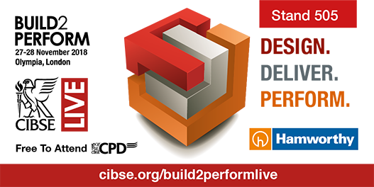 Hamworthy will be at CIBSE Build2Perform Live in November