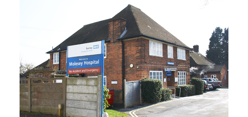 Molesey Hospital in Surrey.
