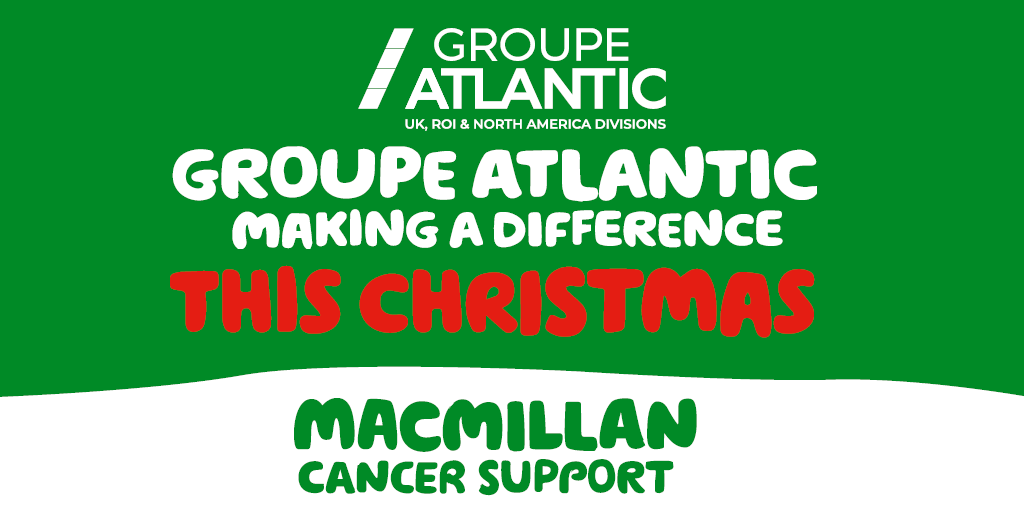 Groupe Atlantic raises more than £120,000 for Macmillan