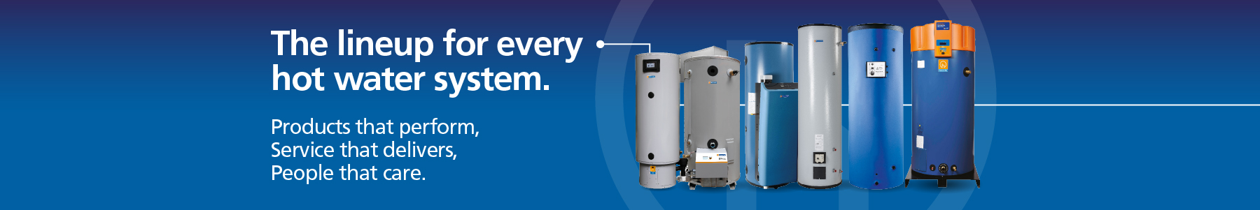 Hot water products from Hamworthy