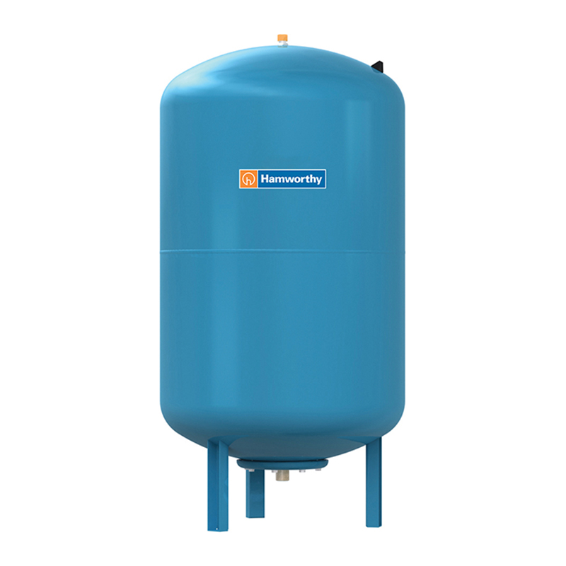 Burstock expansion vessel