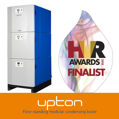 The Upton is finalist for the Commercial/Industrial Heating Product of the Year HVR Award 2018
