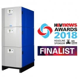 Hamworthy's Upton boiler has been shortlisted for the H&V News Awards 2018