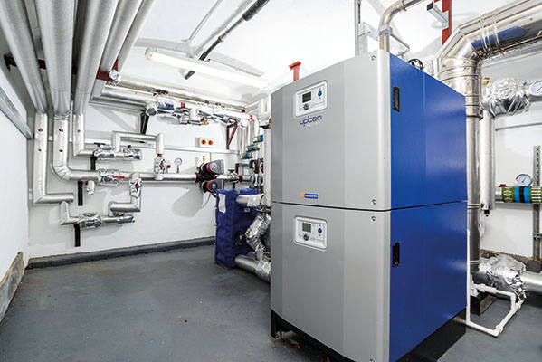 Wessex ModuMax mk3 modular boilers installed at listed building Upton House