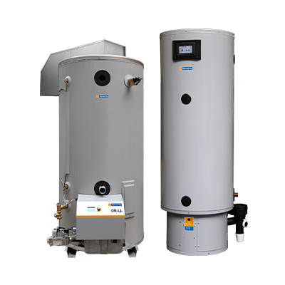 Dorchester DR-LL atmospheric water heater DR-XP stainless steel water heater