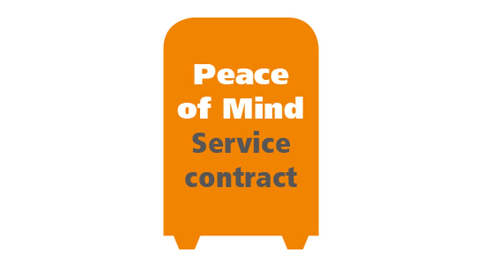 Peace of mind service contract