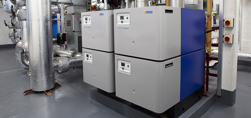 Wessex ModuMax mk3 modular boiler installed at St Paul's Cathedral