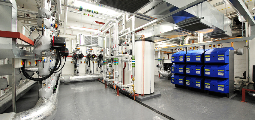 Wessex ModuMax mk2 boilers and Powerstock calorifiers installed at St Catharine's College.