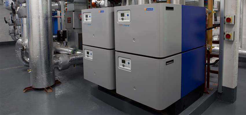 Wessex ModuMax mk3 modular condensing boiler have achieved almost 40% gas savings at St Paul's Cathedral.
