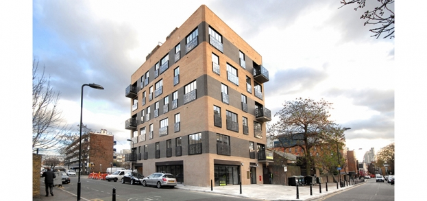 Pitfield Street is a mixed used development which now benefits from a liquid biofuel boiler.