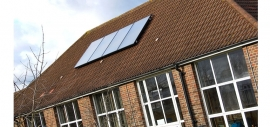 Duppas Junior School benefitted from Croydon Council's policy of investment into renewable energy sources for its schools.