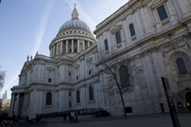 St Paul's Cathedral benefits from Hamworthy's Wessex ModuMax modular boilers' efficiency and quick heat up time.