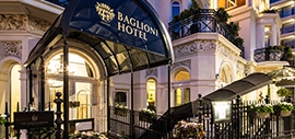 The Baglioni Hotel is a 5-star luxury hotel in London.