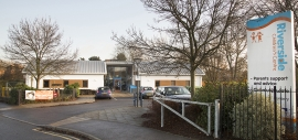 Riverside Children's Centre benefits from built-in boiler controls of their boiler to provide hot water efficiently.