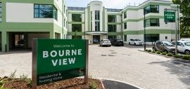 Bourne View care home in Poole