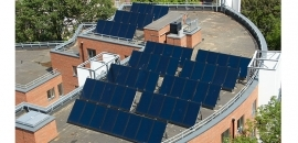 Nebula Court housing development benefits from Hamworthy's solar thermal package as well as cast iron condensing boilers.