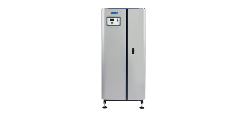Stainless steel boiler that has no minimum flow rates