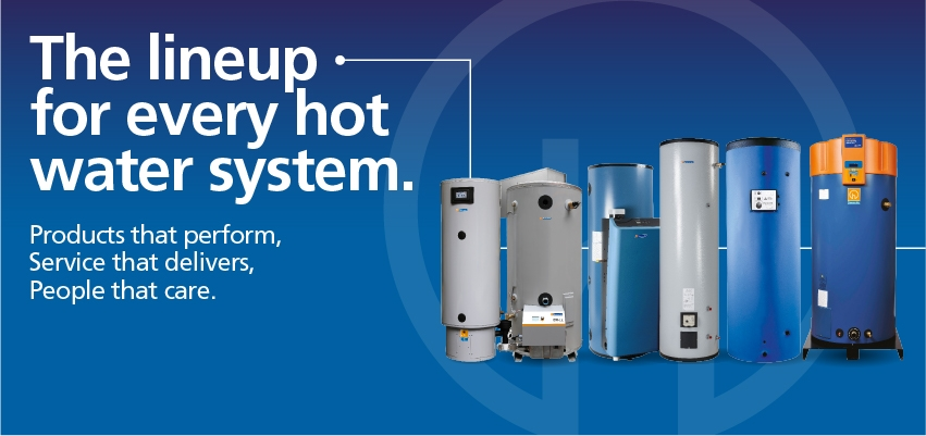 Hot water products for every demand from Hamworty