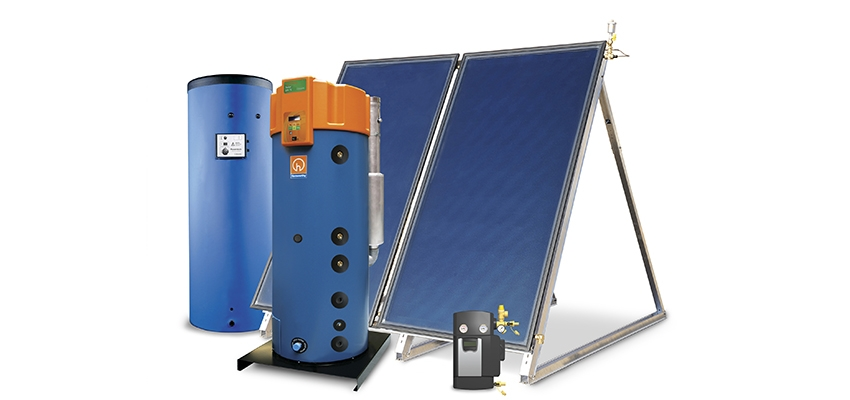 Trigon solar thermal hot water system
