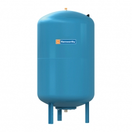Burstock expansion vessel for boilers
