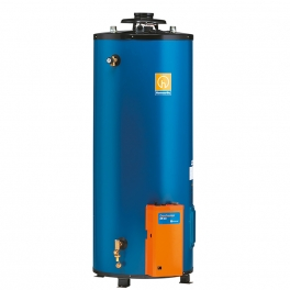 Low output atmospheric water heater