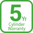 Warranty 5 cylinder product item