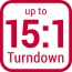 Turndown 15 product icon