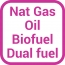 Fuel NG oil biofuel dualfuel product icon